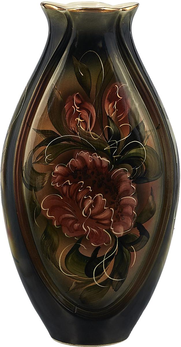 Ваза Керамика ручной работы Луксор, 2114146, черный
