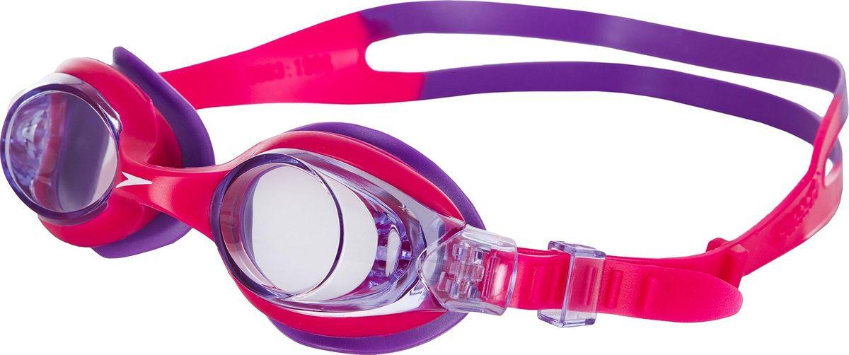 все цены на Очки для плавания Speedo Sea Squad Skoogle, розовый, 8-073593183A онлайн