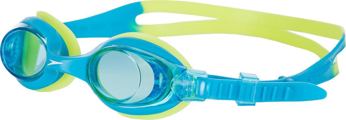 все цены на Очки для плавания Speedo Sea Squad Skoogle, голубой, зеленый, 8-073598029A онлайн