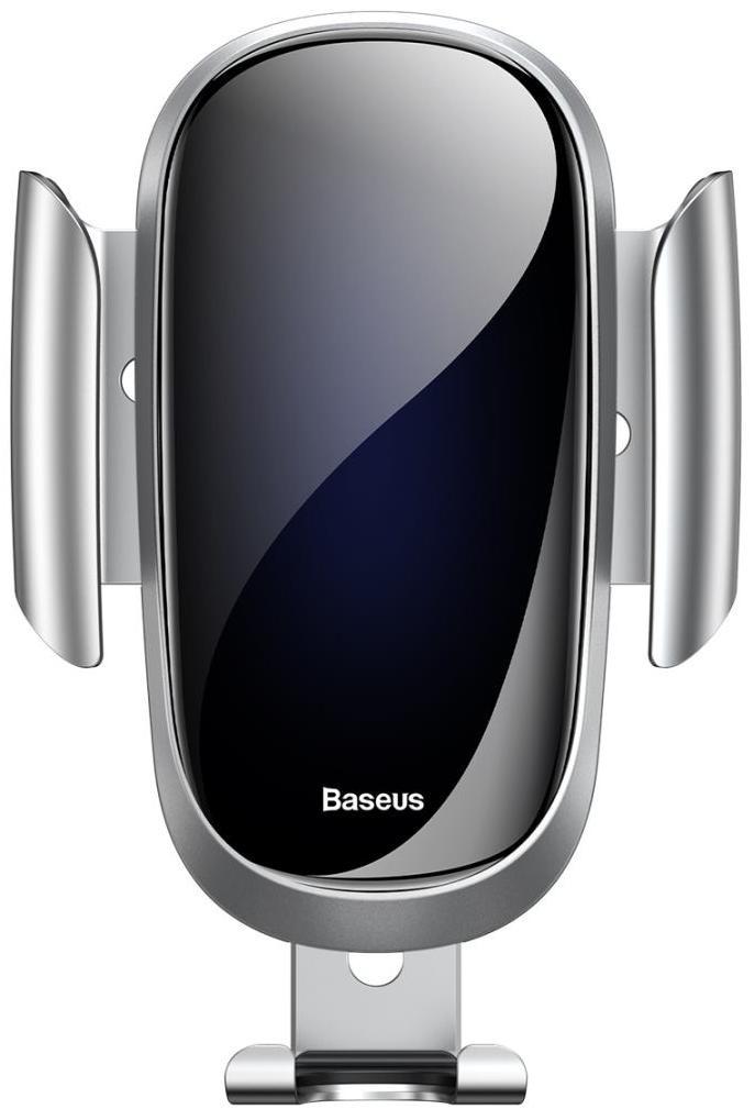 держатель baseus emoticon gravity black suyl emhj Автомобильный держатель Baseus SUYL-WL0S, серебристый