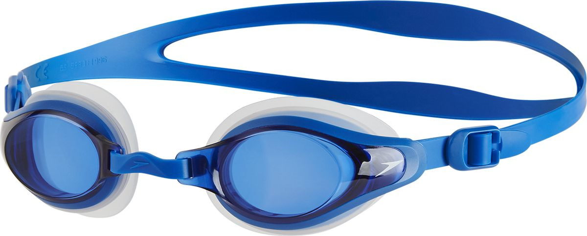 Очки для плавания Speedo Mariner Supreme Optical, прозрачный, синий, 11321B975, -5,58-11321B975Многофункциональные очки для плавания. Подстраиваемая носовая перегородка для разных типов лица. AntiFog обеспечивает отличную видимость. Двойной удобный регулируемый ремешок. Доступны линзы с разными диоптриями.