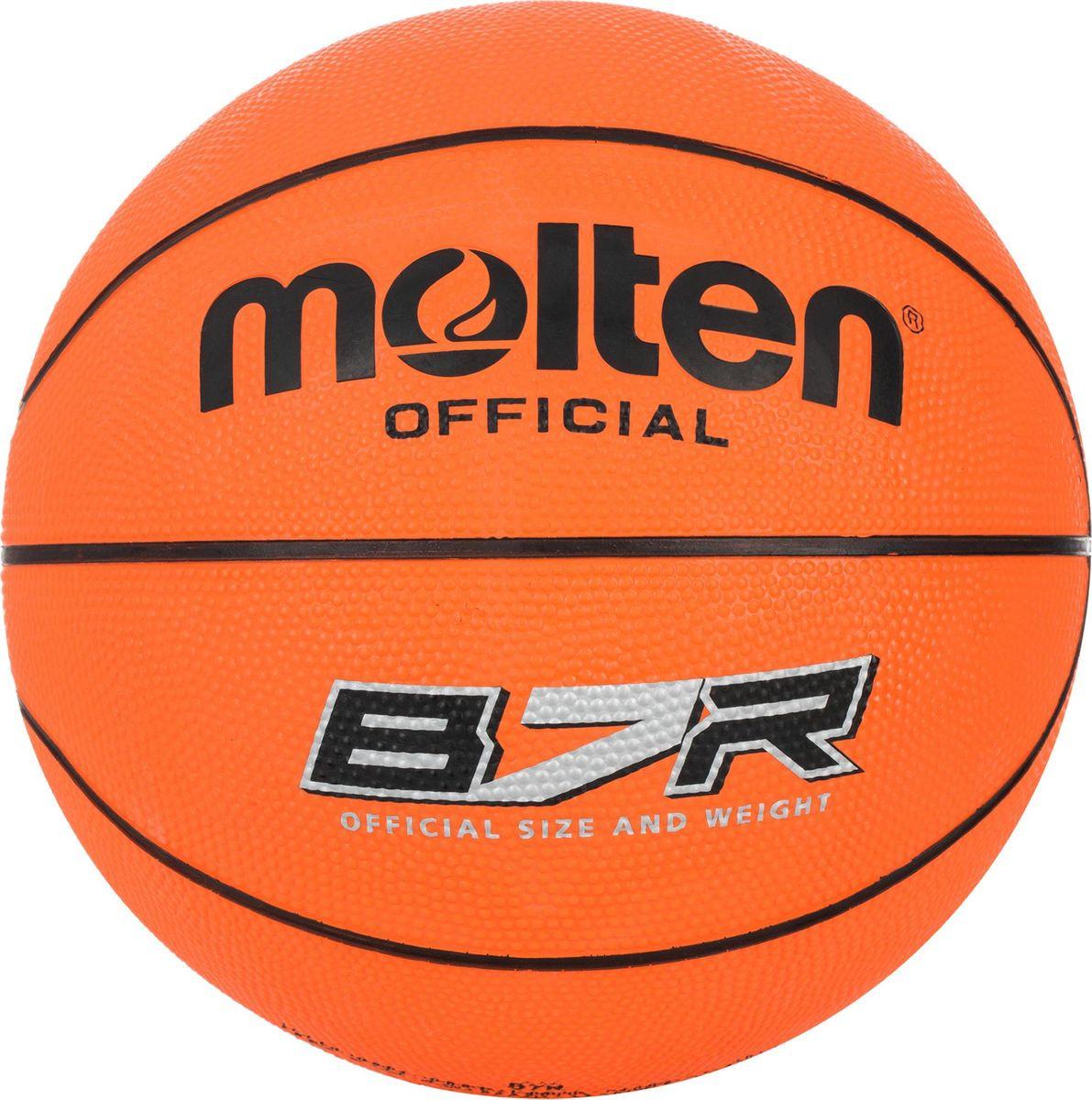 Мяч баскетбольный Molten PROfessional. Размер 7. B7R мяч баскетбольный atemi bb400 7