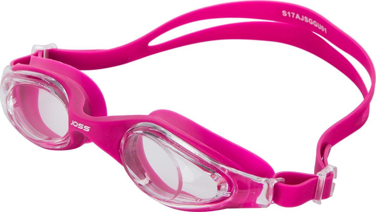 Очки для плавания Joss Swim Goggles, взрослые, цвет: темно-серый. Размер универсальный плавки мужские joss men s swim trunks цвет темно серый a19ajswtm02 93 размер 50