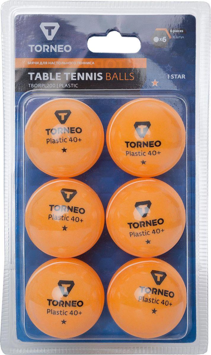 Шарики для пинг-понга Torneo, S19ETOAQ003, 6 шт стоимость