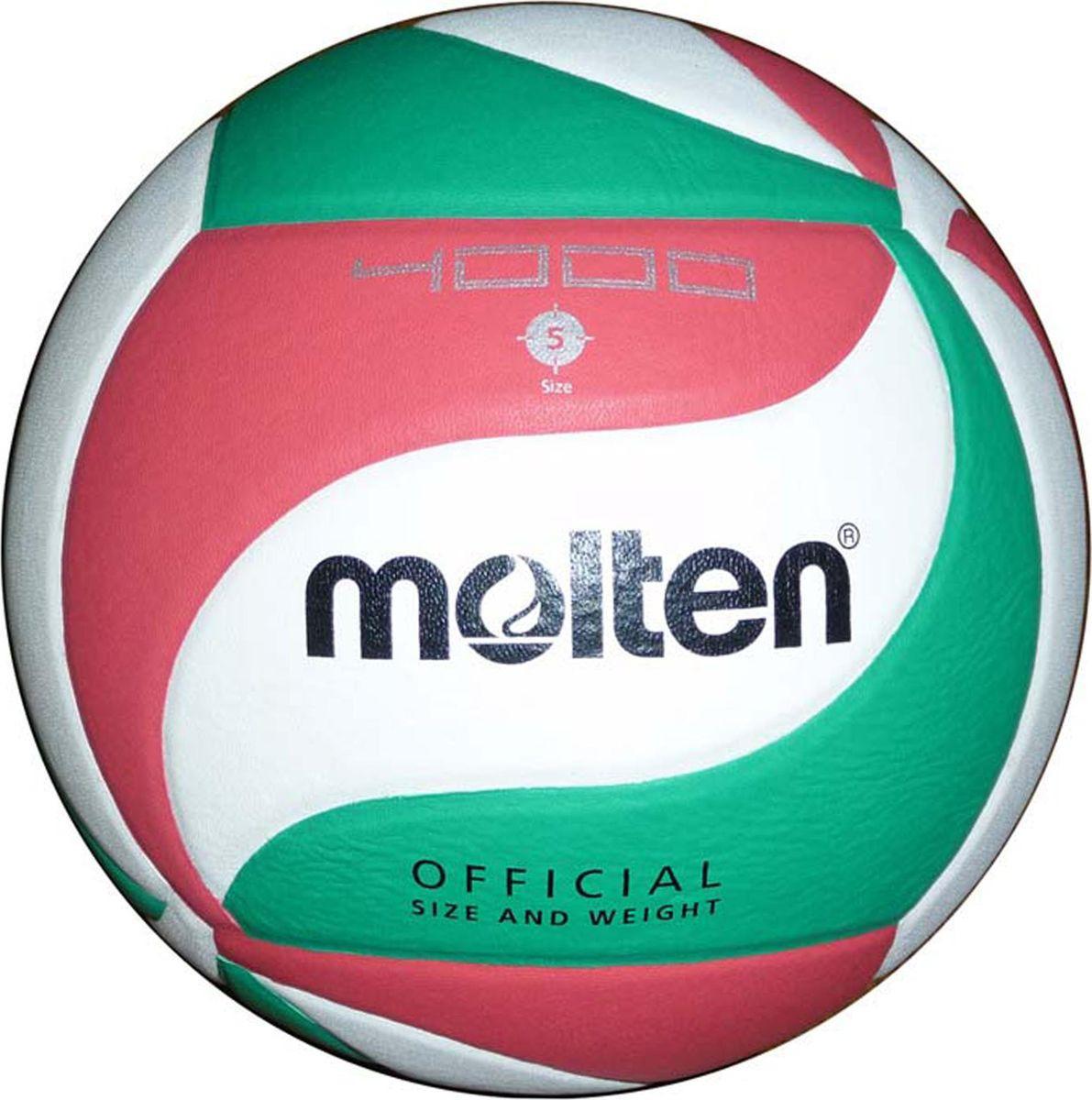 Мяч волейбольный Molten, V5M4000, размер 5 цена