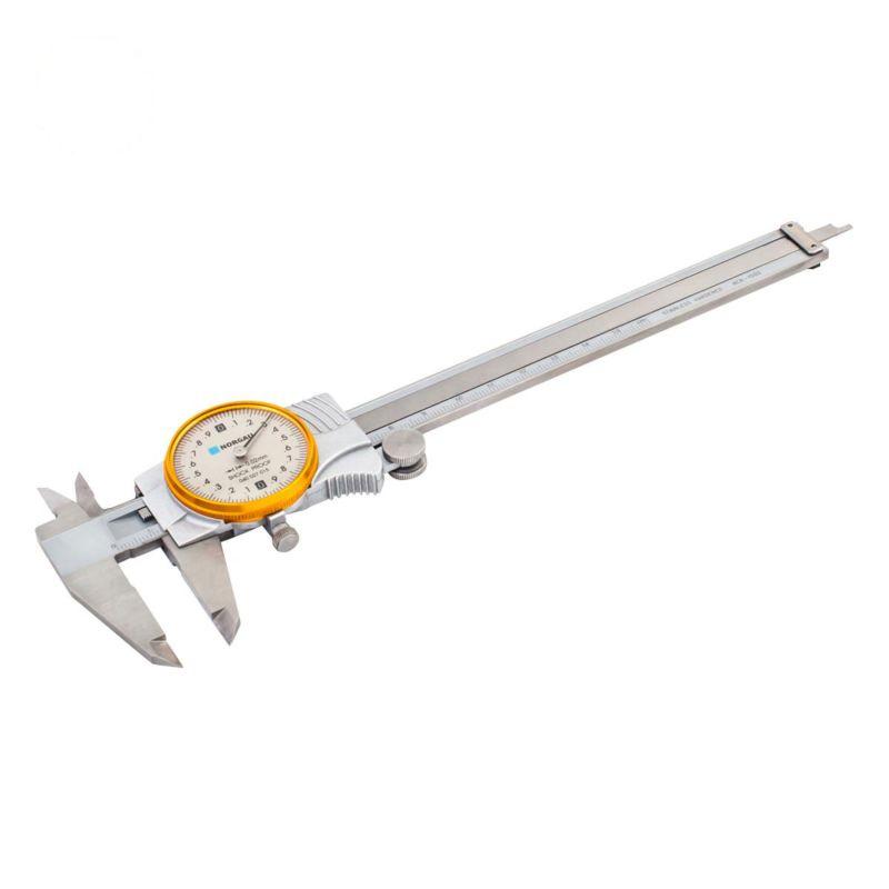 Штангенциркуль NORGAU с круговой шкалой 150 мм, тип NCR цена и фото