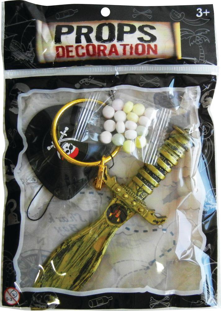 Игрушка с драже Конфитрейд День Игрушки Сокровища пиратов, 8 шт х 5 г конфитрейд водофон фруктовое драже с игрой 5 г
