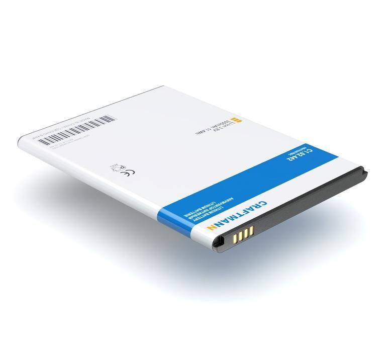 Аккумулятор для телефона Craftmann HB476387RBC для Huawei Honor 3X, Ascend G750, Glory 4, Honor 3X Pro, B199 аккумулятор для телефона craftmann hb5f1h для huawei u8860 honor glory m886 mercury m920 activa 4g