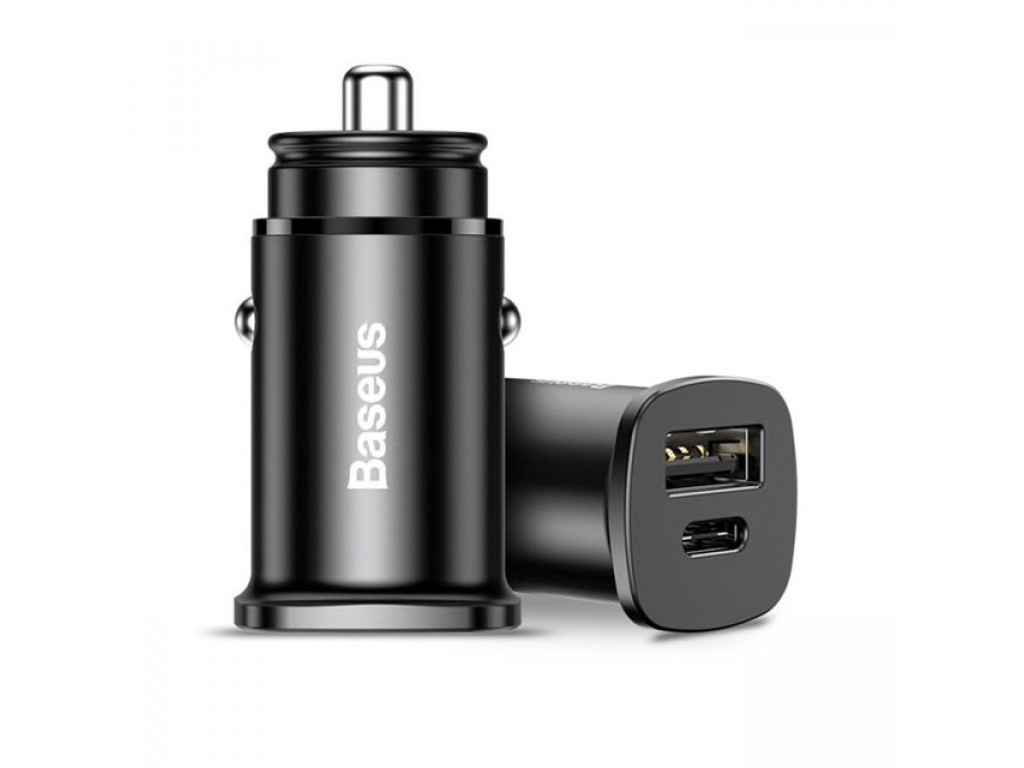 Автомобильное зарядное устройство Baseus CCALL-YS01, черный автомобильное зарядное устройство baseus ccall ys01 черный