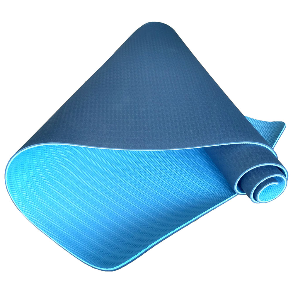 Коврик для йоги и фитнеса Hawk Коврик для йоги C33515 183х61х0,6 см (синий), синий цена 2017
