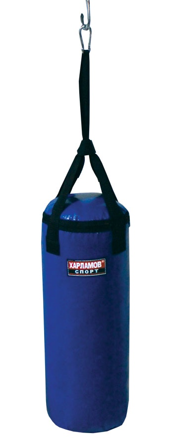 Фото - Боксерский мешок Харламов-Спорт Спортивный мешок Детский вес 8 кг, синий детский спорт