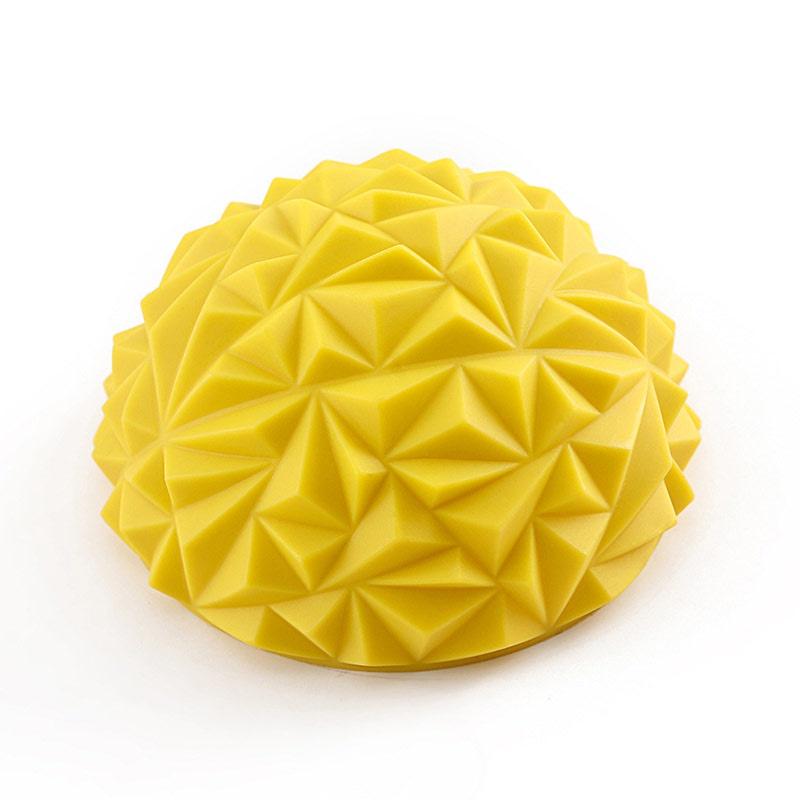 цена на Универсальный тренажер Hawk Полусфера массажная C33512 d-16,5см (желтый), желтый
