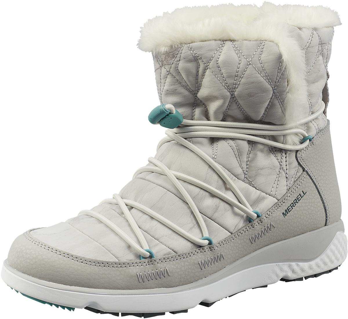 Полусапоги Merrell ботинки для девочки merrell m moab fst polar mid a c wtrpf цвет черный розовый mk159178 размер 13 30