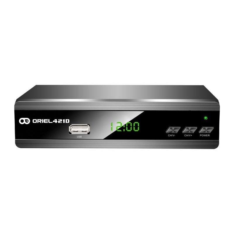 ТВ-тюнер/ресивер Oriel Цифровая приставка 421D - DVB-T2/C