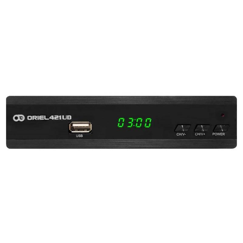 лучшая цена ТВ-тюнер/ресивер Oriel Цифровая приставка 421UD - DVB-T2/C