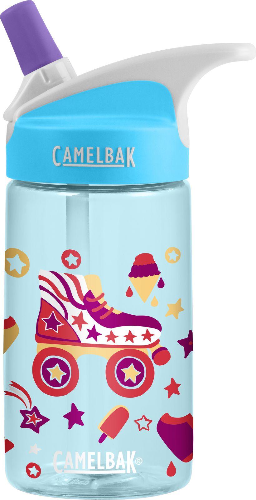 Бутылка для воды Camelbak Eddy Kids Roller Skates, 1579403140, разноцветный, 400 мл