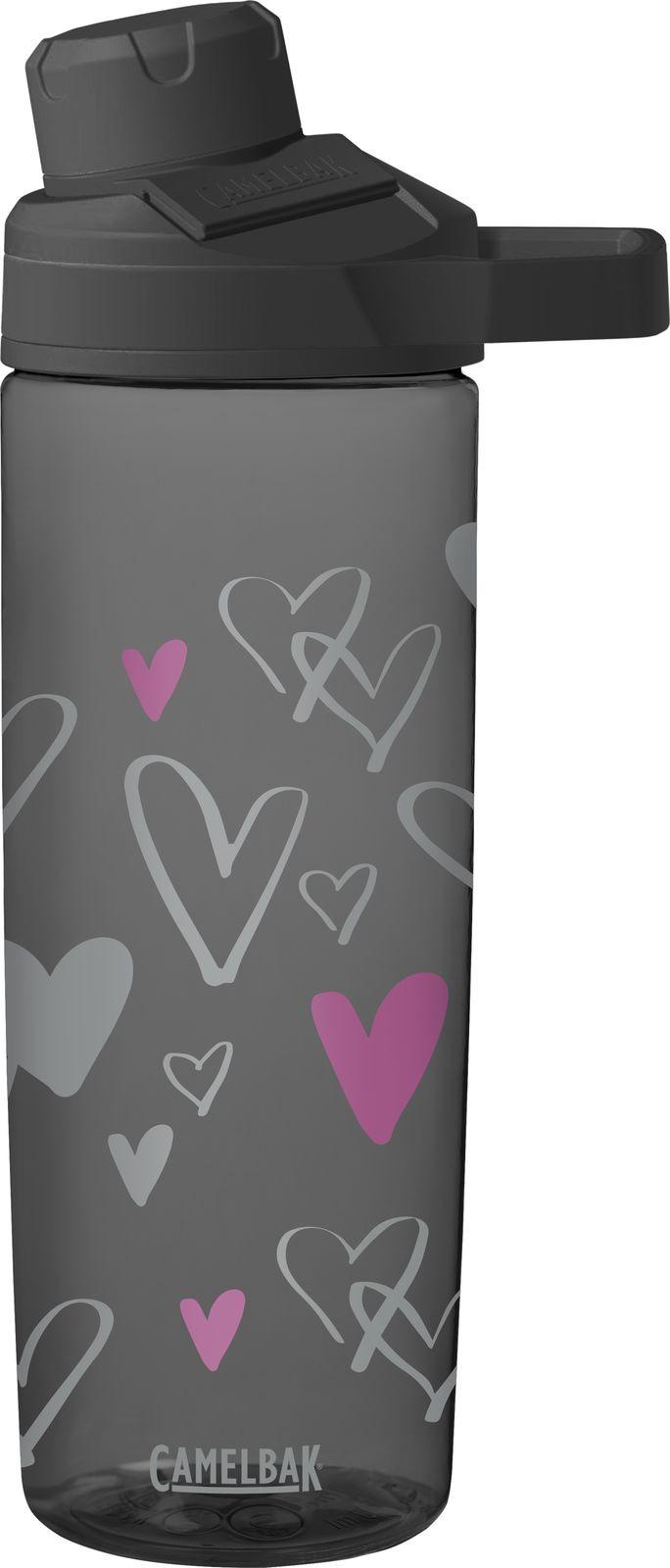 Бутылка для воды Camelbak Chute Mag Sketched Hearts, 2100001160, разноцветный, 600 мл