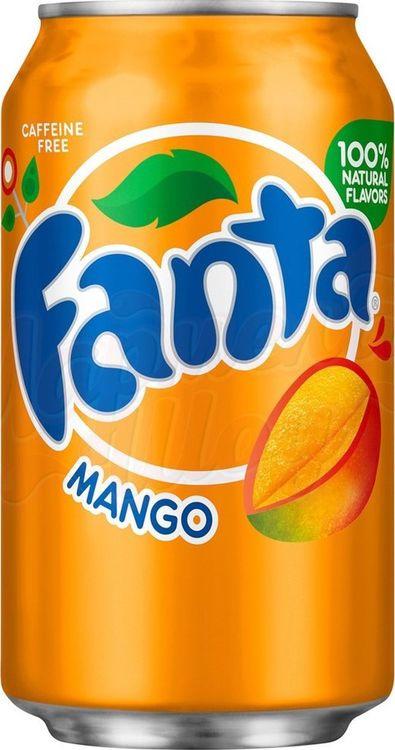 Напиток газированный Fanta Mango, 12 шт х 355 мл