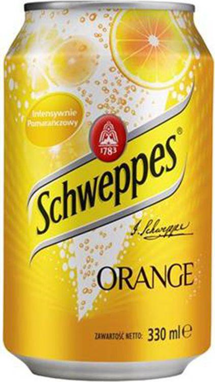 Напиток газированный Schweppes Orange, 24 шт х 330 мл