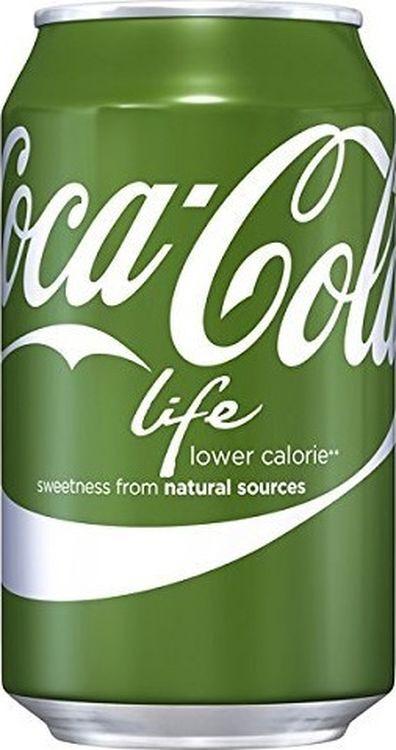 Напиток газированный Coca-Cola Life, 12 шт х 355 мл