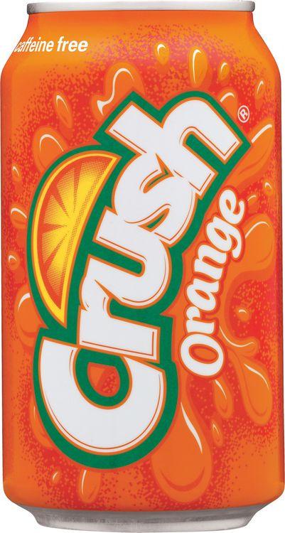 Напиток газированный Crush Orange, 12 шт х 355 мл orange cr12l crush pix