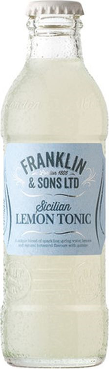 Тоник Franklin&Sons Лимонный, 24 шт х 200 мл