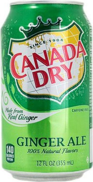 Напиток газированный Canada Dry Ginger Ale, 24 шт х 330 мл