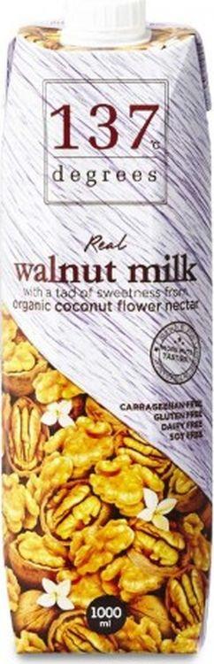Молоко из грецкого ореха 137 Degrees, 12 шт х 1 л