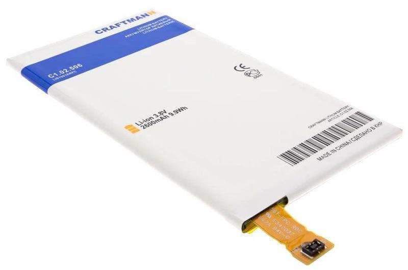 Аккумулятор для телефона Craftmann LIS1561ERPC для SONY D5803, D5833 Xperia Z3 Compact, E5333, E5343, E5363, E5303, E5306 Xperia C4