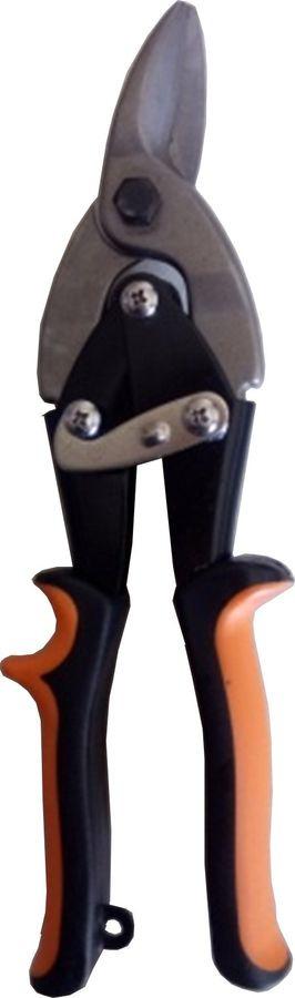 Ножницы строительные Вихрь, по металлу, правый рез, двухкомпонентные рукоятки, 73/10/8/2, 250 мм ножницы по металлу прямой рез 250 мм кедр 033 5053 46730