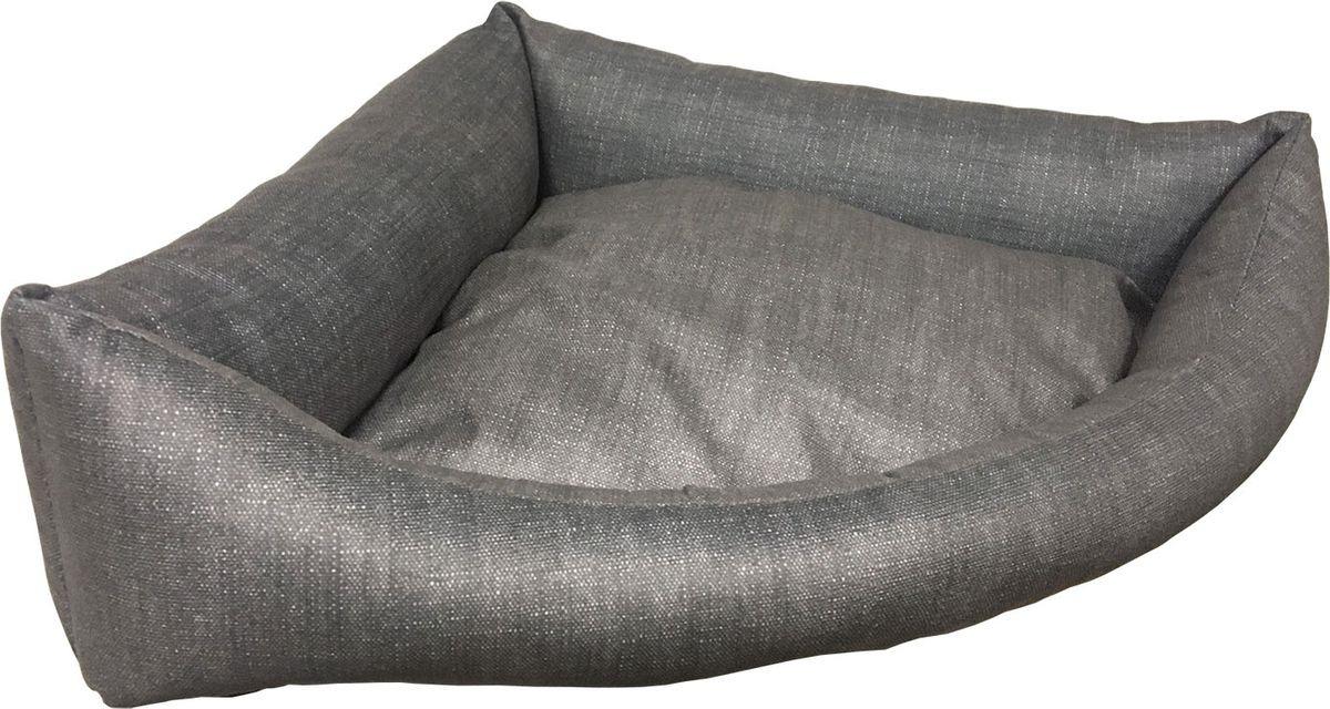 Лежак для животных CLP Свит Хоум, угловой, 163.259, серый, размер S