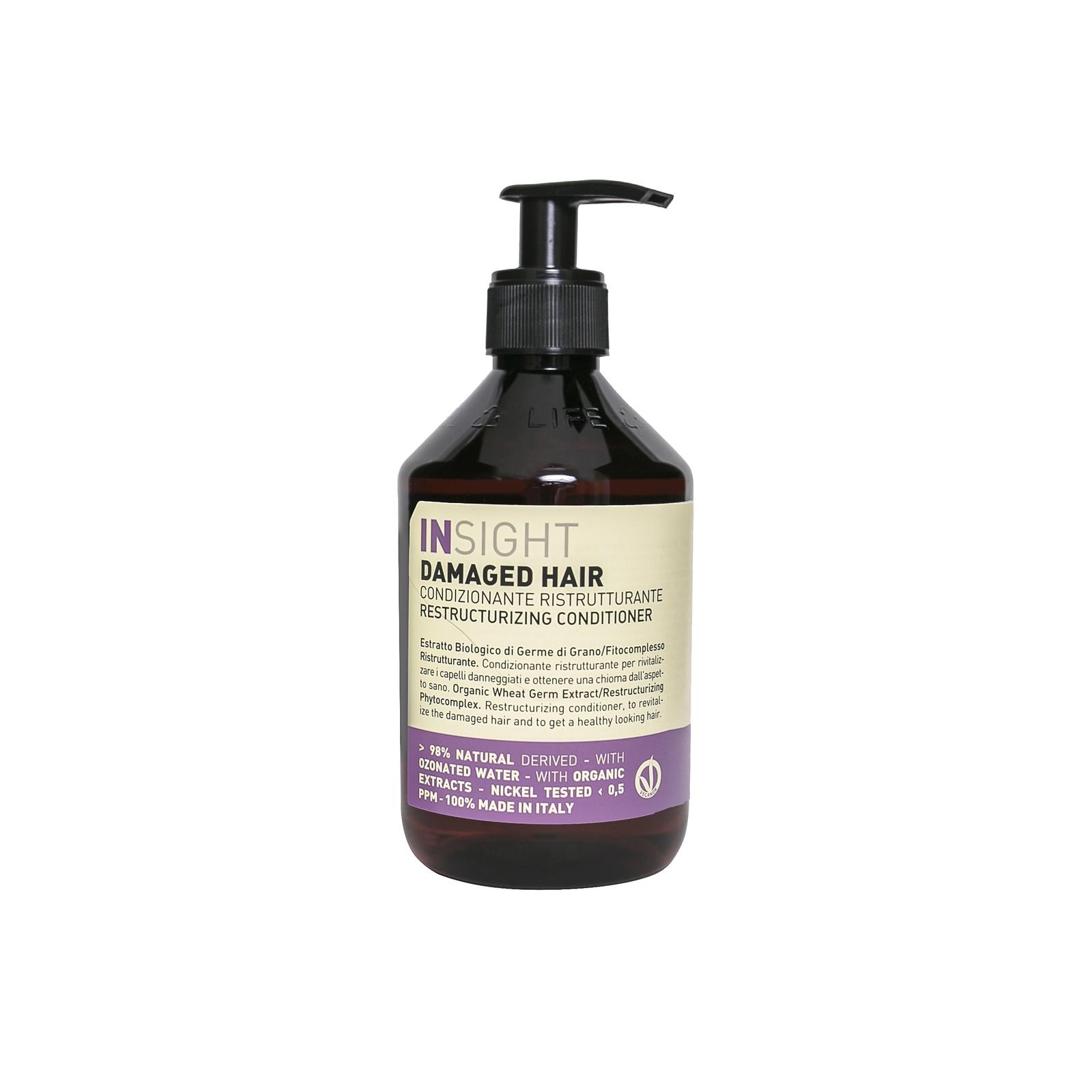Кондиционер для волос INSIGHT для ежедневного использования109-334032/1Кондиционер для ежедневного использования DAILY USE для заряда энергии с лёгким увлажняющим эффектом, питает волосы без эффекта утяжеления. Формула, обогащенная маслами натурального растительного происхождения, придаёт сияние. Также, облегчает расчёсывание, а фруктовые кислоты возвращают жизненную силу.