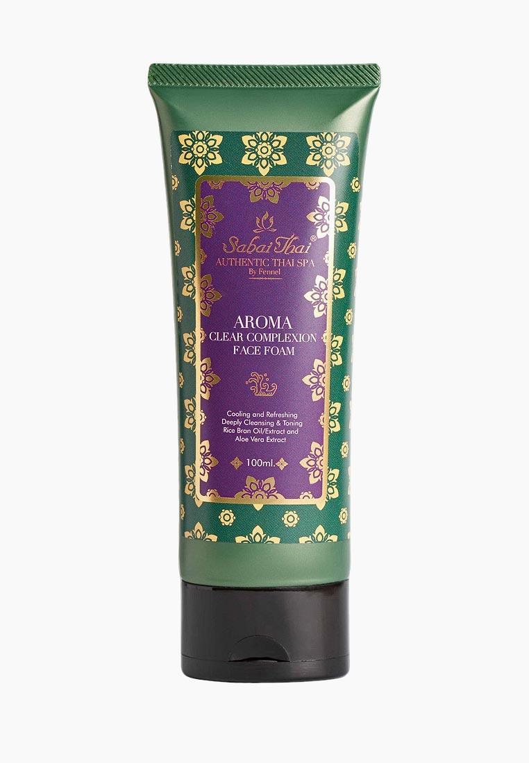Пенка для умывания Sabai Thai Authentic SPA SBT-016 rosette увлажняющая пенка для умывания с розовой глиной экстрактом черных бобов и абрикосовым маслом с цветочным ароматом 120 г