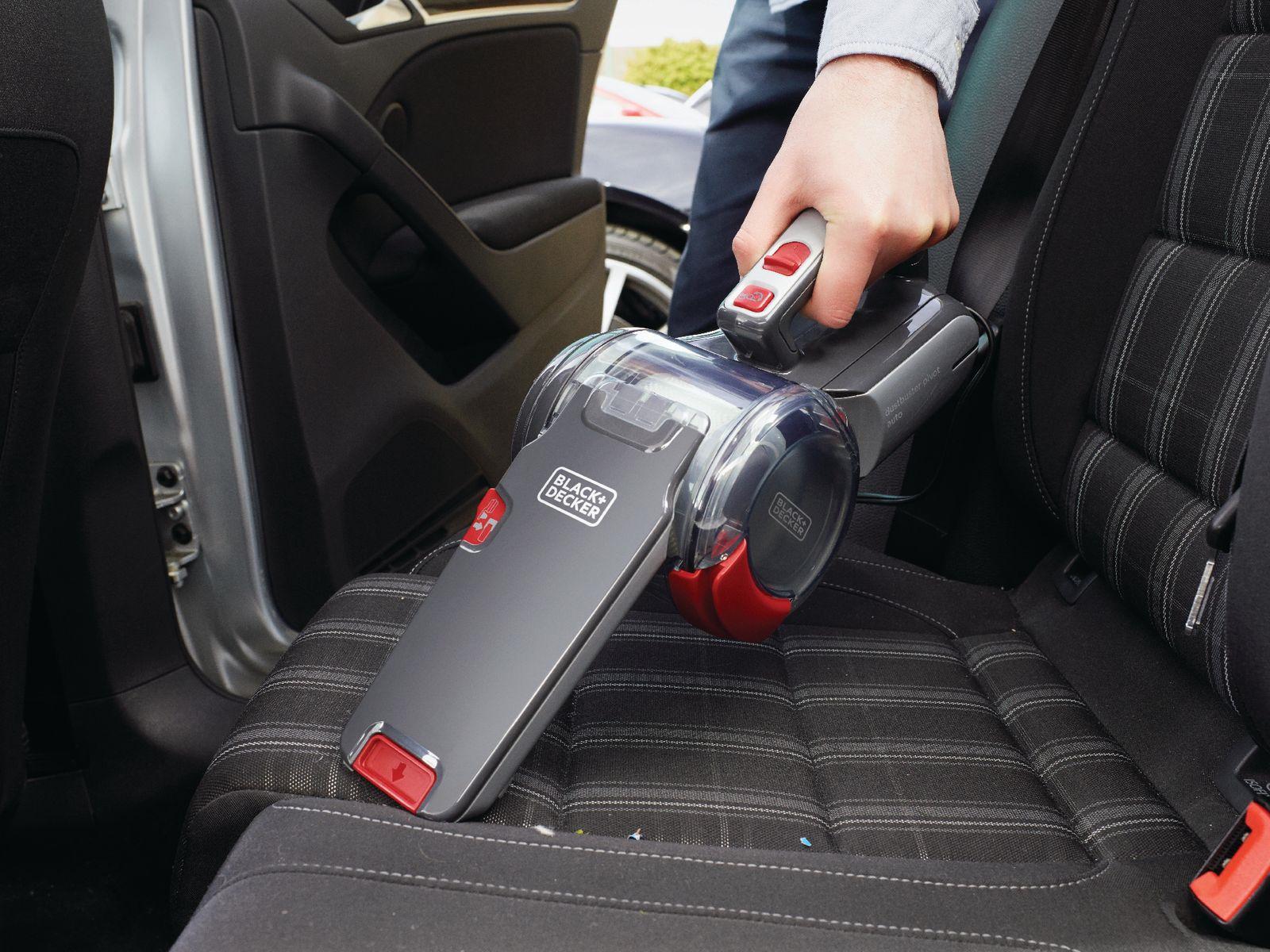Пылесос автомобильный Black& Decker Dustbuster Pivot,красный Black+Decker