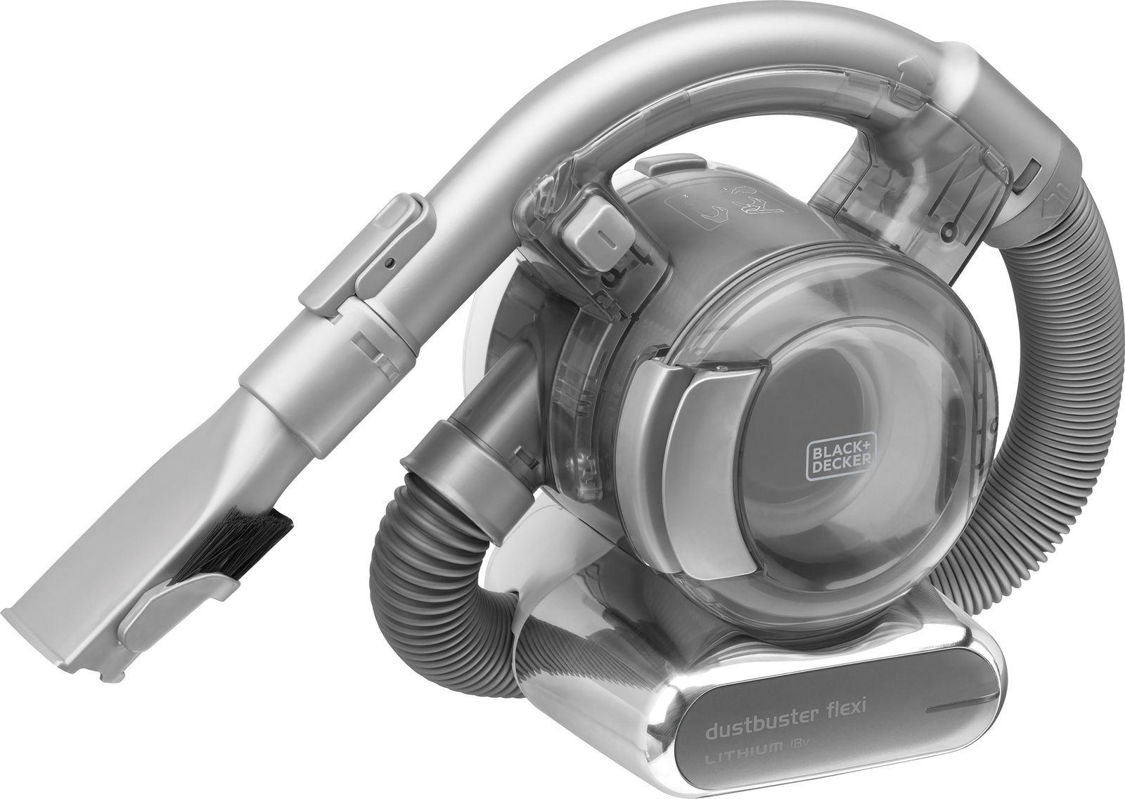 Пылесос Black+Decker Dustbuster Flexi, серый