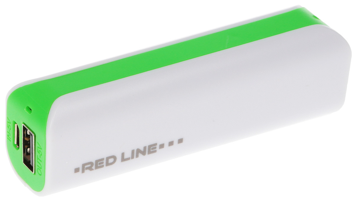 Red Line R-3000, Green внешний аккумулятор аккумулятор red line r 4000 power bank 4000mah grey stone ут000009485