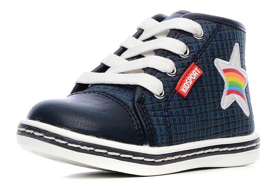 Indigo Kids indigo kids indigo kids детские ортопедические ботинки на липучке синие