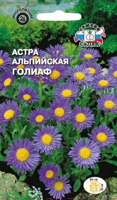 "Семена Седек ""Астра Голиаф"", 00000017079, 0,1 г"