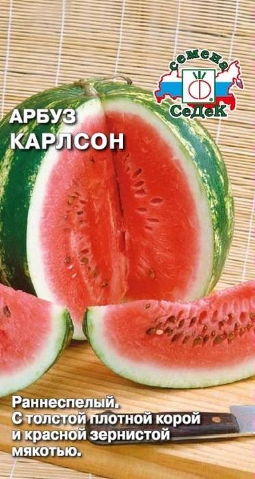 """Семена Седек """"Арбуз Карлсон"""", 00000016674, 1 г"""