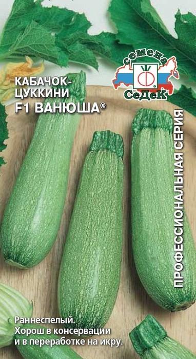 "Семена Седек ""Кабачок Ванюша F1"", 00000015608, 2 г"