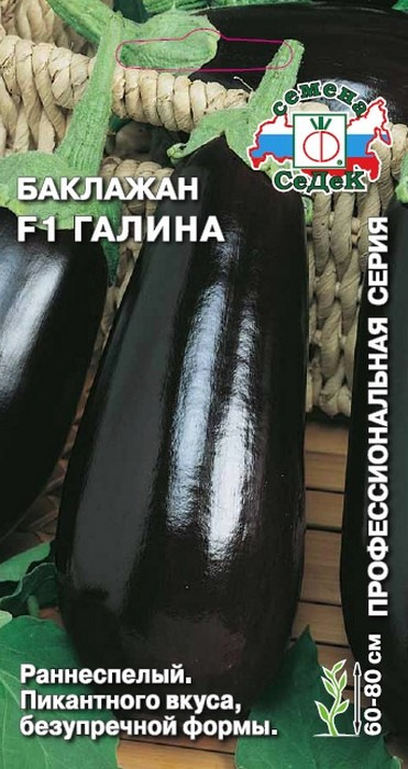 "Семена Седек ""Баклажан Галина F1"", 00000013775, 0,1 г"