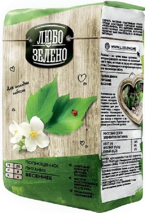"""Удобрение Любо-Зелено """"Весеннее"""", 1 кг"""