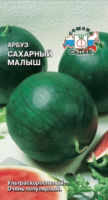 """Семена Седек """"Арбуз Сахарный Малыш"""", 00000016306, 1 г"""