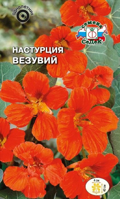 """Семена Седек """"Настурция Везувий"""", 00000015036, 1 г"""