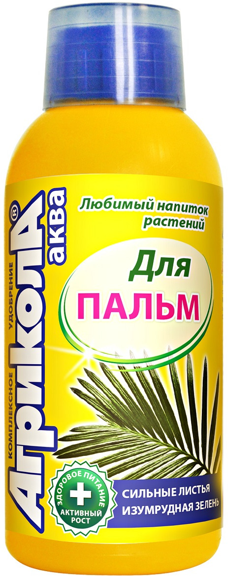 Удобрение Грин Бэлт Агрикола, для пальм, 250 мл блеск для листьев грин бэлт 300 мл