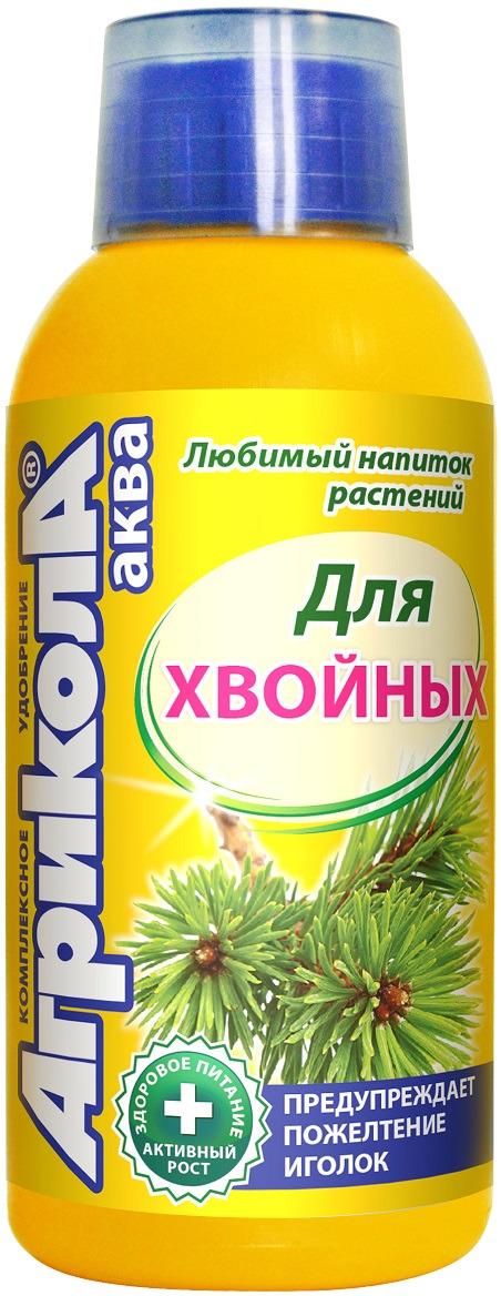 Удобрение Грин Бэлт Агрикола Аква, для хвойных растений, 250 мл минеральное удобрение зоомир унифлор аква 5 для аквариумных растений и кондиционирования воды подкисляющее 100 мл
