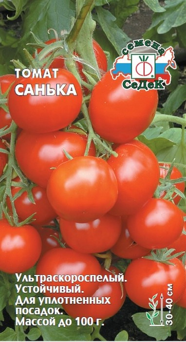 "Семена Седек ""Томат Санька"", 00000015569, 0,1 г"