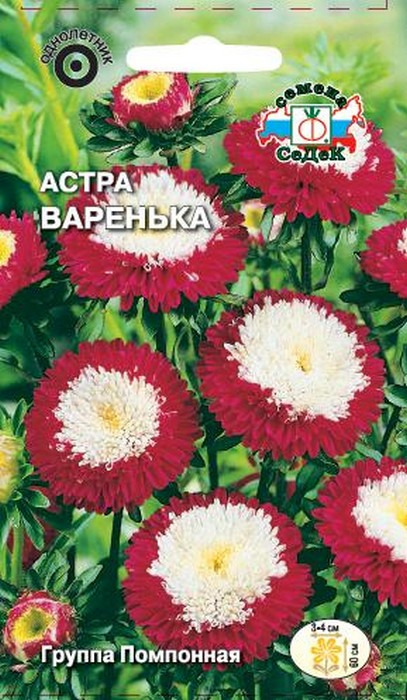 """Семена Седек """"Астра Варенька"""", 00000013951, 0,2 г"""