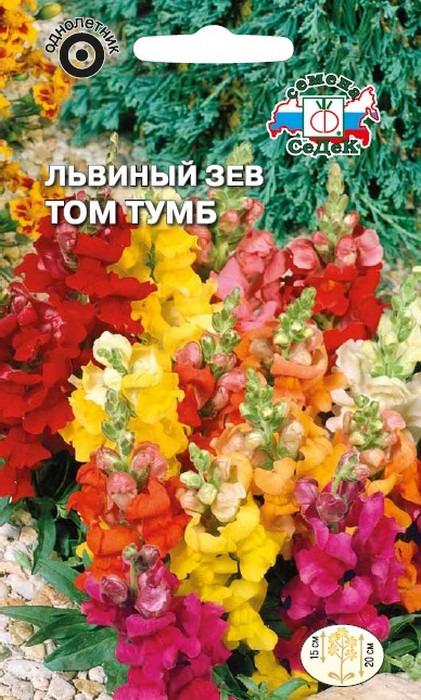 """Семена Седек """"Львиный зев Том Тумб"""", 00000014536, 0,1 г"""