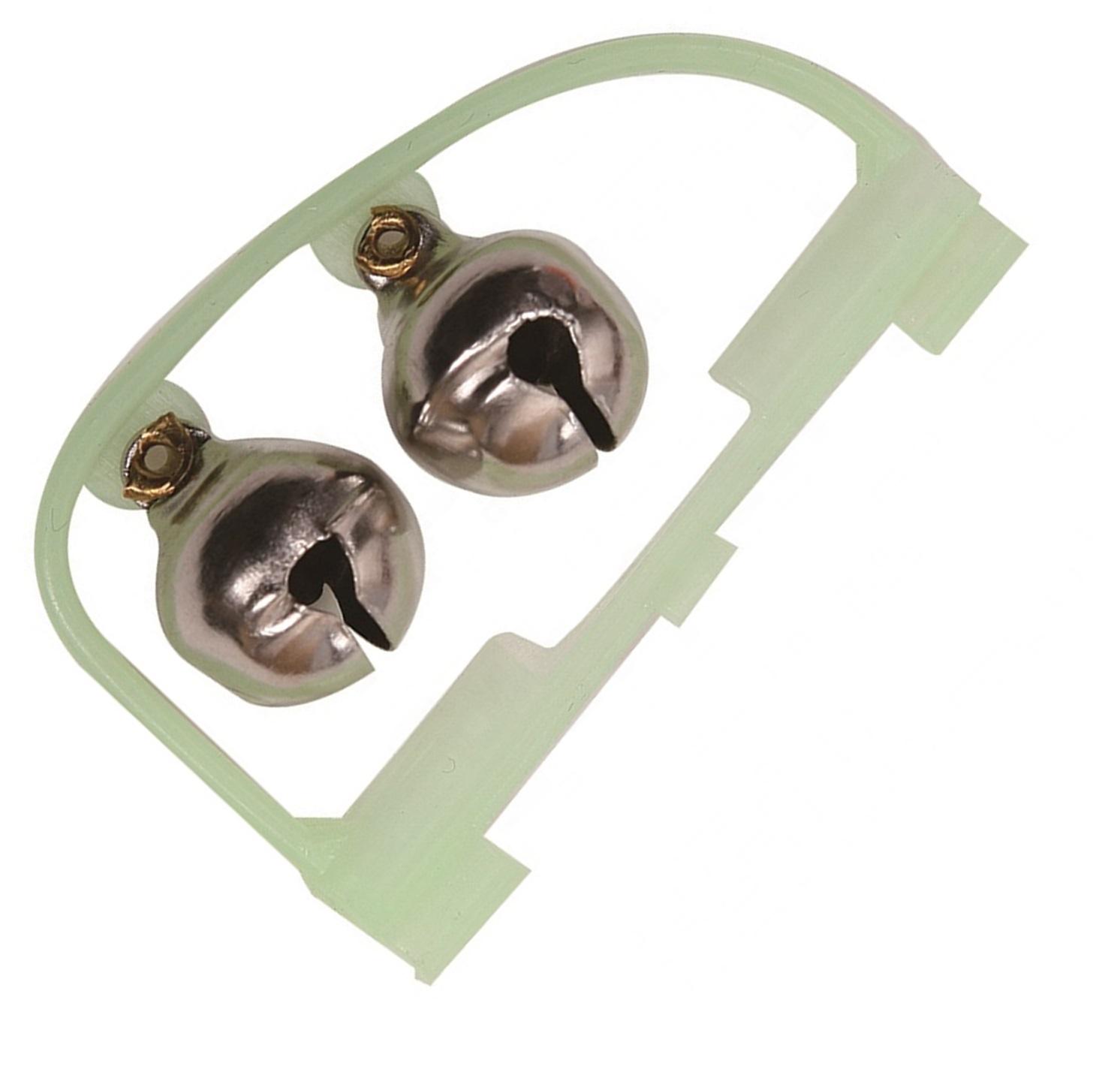 Сигнализатор поклевки AGP Бубенчики, серый металлик